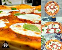 Pizza Margheritta yum!