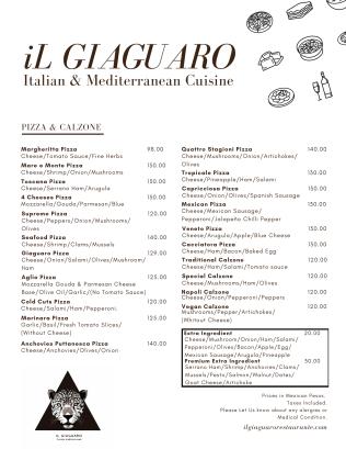 Pizza/Calzone